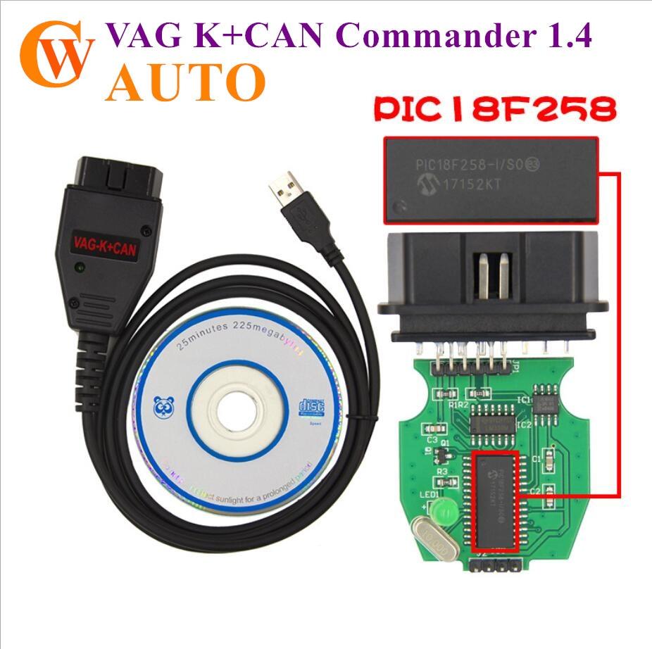 VAG K+CAN Commander 1.4 VAG K+CAN 1.4 K-Line Commander Full
