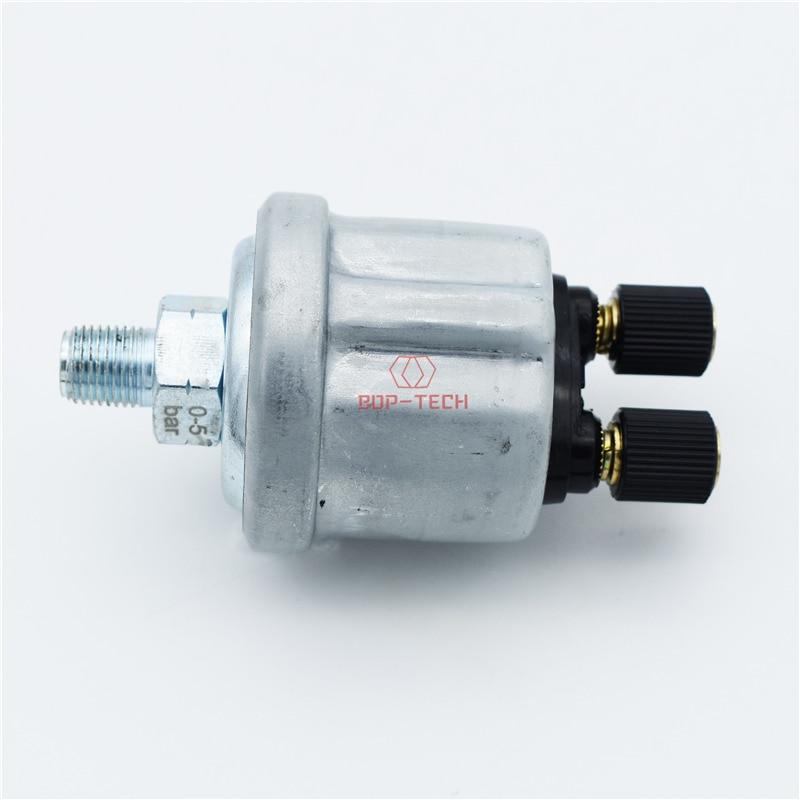 Nuevo emisor de presión de aceite enfriado por aire para VDO 360-006 360006 M10-1.0 0,5 Bar