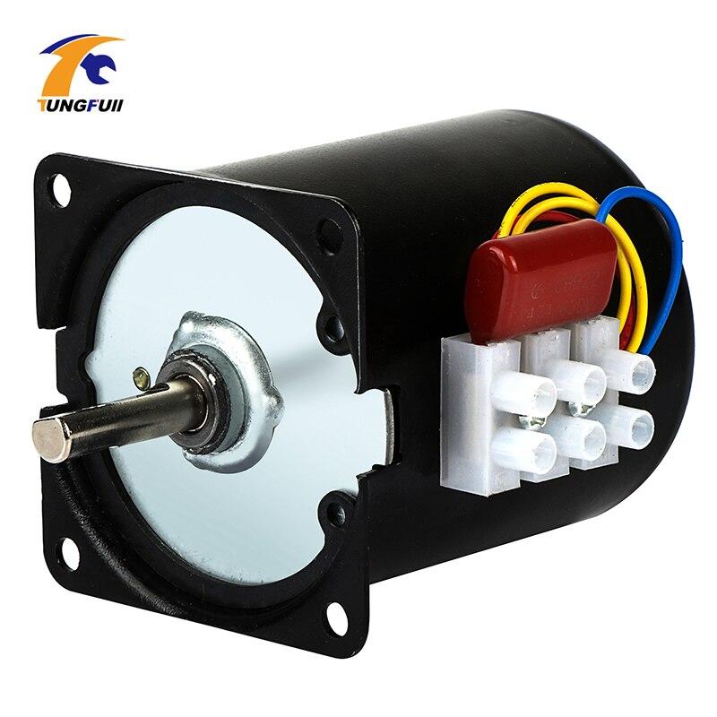 220V AC engranaje síncrono Motor 68KTYZ 68-KTYZ 28W síncrono de imán permanente Motor de engranaje 220V 2,5 5 10 15 20 30 40 50 60 rpm