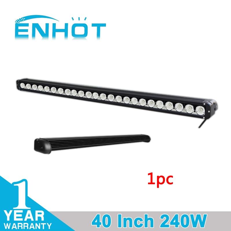 ENHOT 40 240W Cree LED CHIP Licht Bar Flut/Spot/Combo Work Fahr Licht Bar Für offroad SUV Lkw Boot