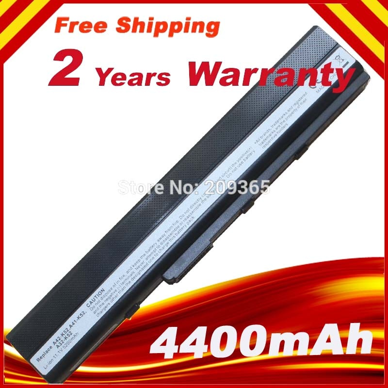 Batería Para ASUS X52D X52DE X52DR X52J X52JB X52JC X52JE X52JG X52JK X52JR X52N A32-K52 A32-K42