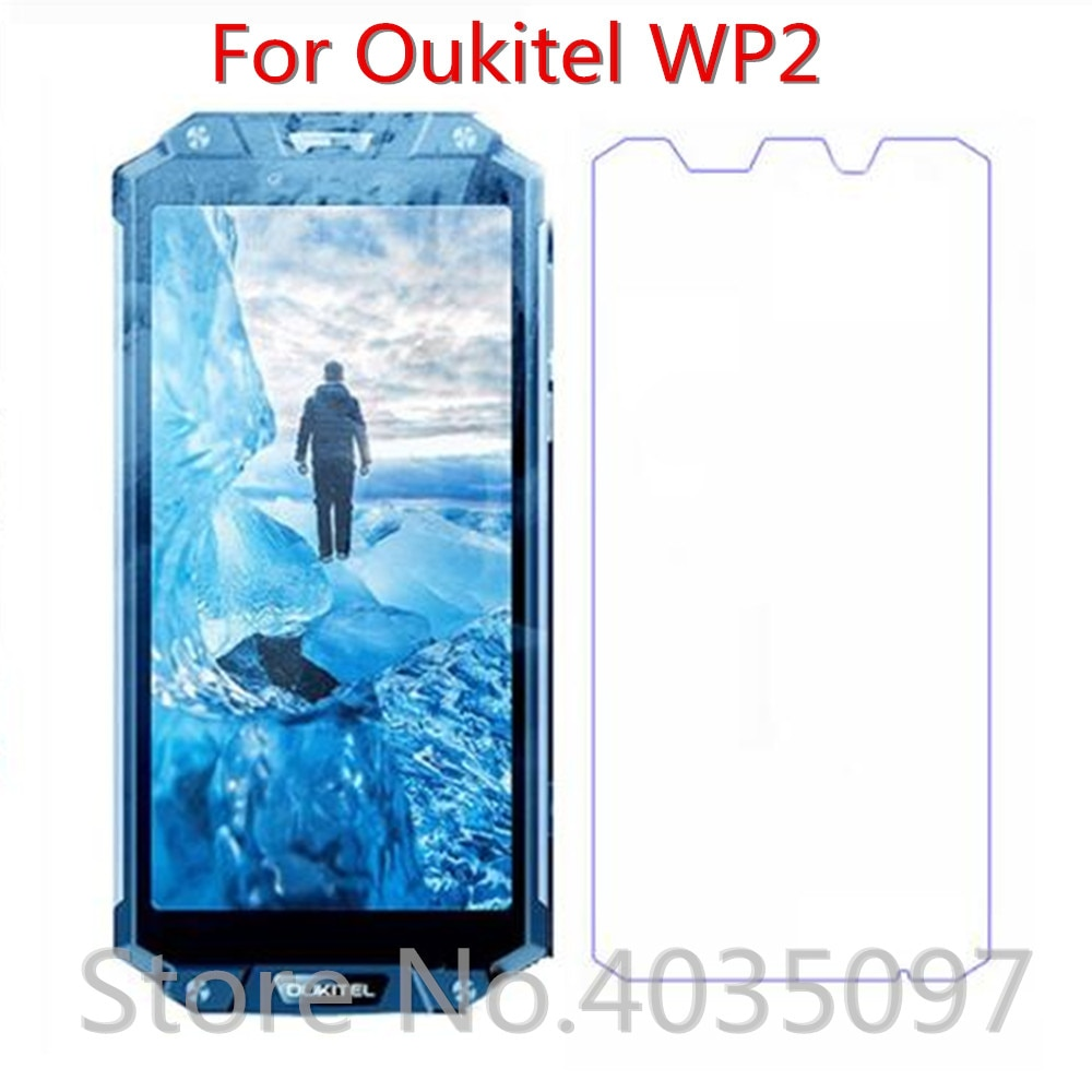 2 шт закаленное стекло для Oukitel WP2 защита экрана 9H 2.5D Защитное стекло для телефона для Oukitel WP2 стекло