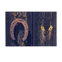 Alfombras de baño de decoración Vintage, fondo de madera de herradura oxidante, alfombras de baño de puertas delanteras interiores antideslizantes