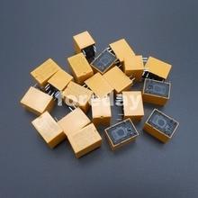 20 sztuk żółty przekaźnik mocy 6 pinów HUI KE HK4100F-DC3V-SHG HK4100F-DC 3 5 9 12 V-SHG 3 V-12 V DC 3V 5V 9V 12 V V 6-Pin * FD396-400