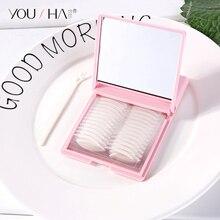 YOUSHA 480 pièces Double paupière bande Eye lift Double Invisible paupière autocollant pâtes Eyeliner lift maquillage bande autocollant miroir boîte