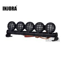 INJORA 126MM barre lumineuse multifonction LED pour chenille télécommandée Tamiya Traxxas HSP RC voiture axiale SCX10 90046 D90