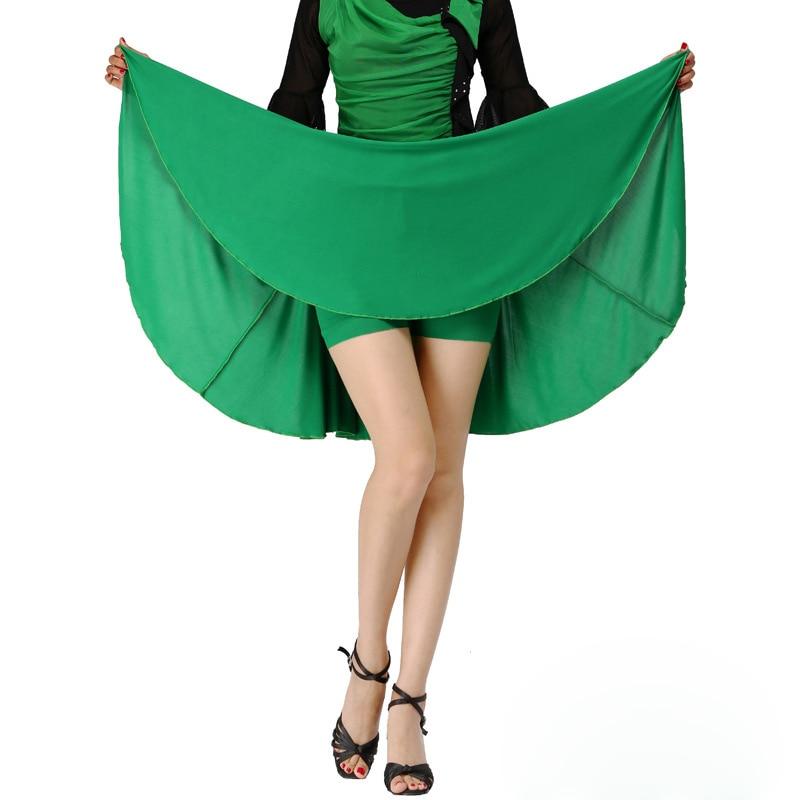 New Latin Dance Skirt for Womens Mini Vintage Ladies Practice Dancewear Harajuku Dancing Clothes Danza Falda Dance Saia