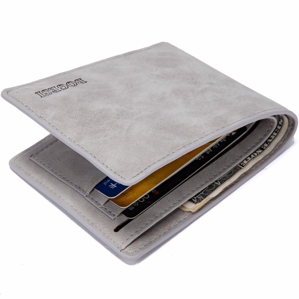 2020 New Design Purses Wallets for Men with Card Money Clip Luxury Slim Wallet  Purse Magic Wallets