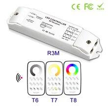NEUE Konstante spannung Mini Multi-Zone CCT RGBW Dimmer Controller DC12V 24V RF Empfänger led streifen touch controller fernbedienung