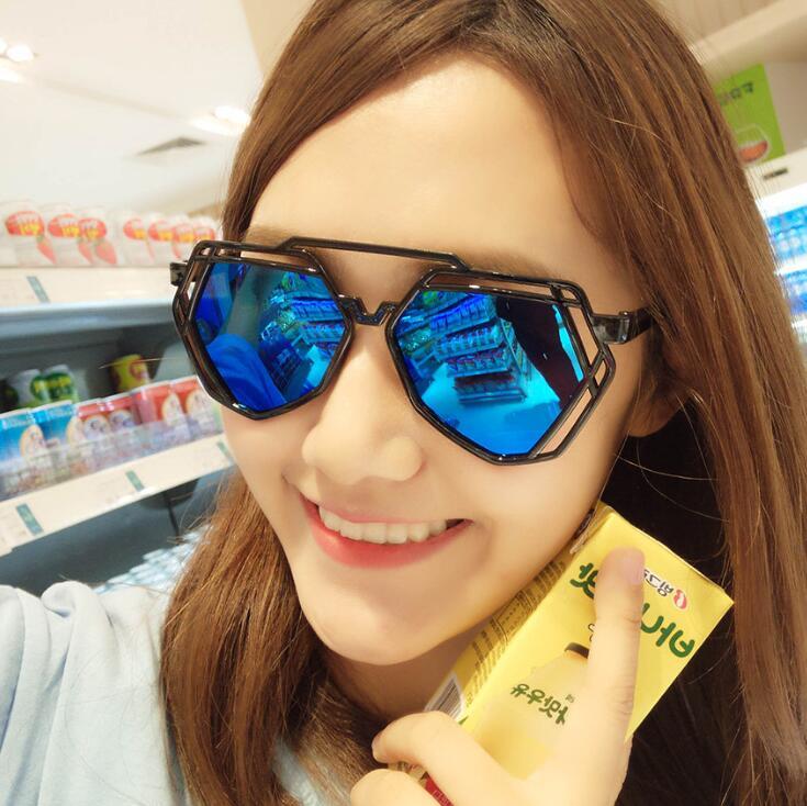 New cheap Fashion Vintage Sunglasses Women Brand Designer Retro mirror Sunglass cat eye Sun Glasses