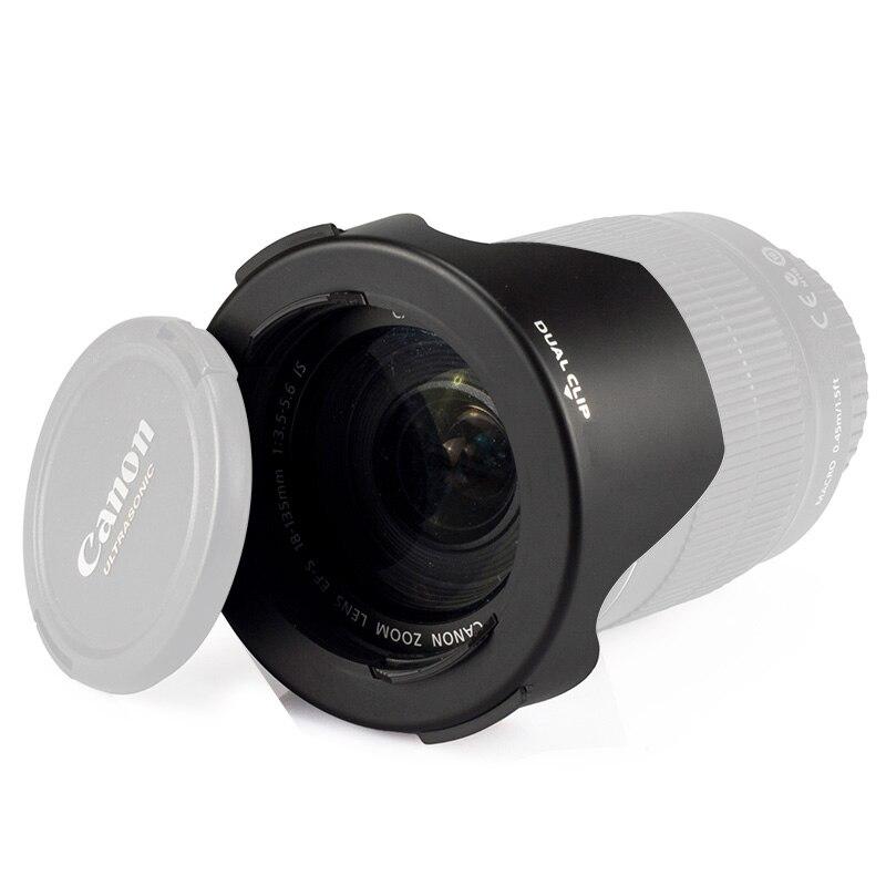 Ableto hood lente da câmera para sony 18-55mm 55-200mm lente a100 a200 a230 a380 a390 a290 a300 a330 a350 a450 a500 a550 a560 a580 700