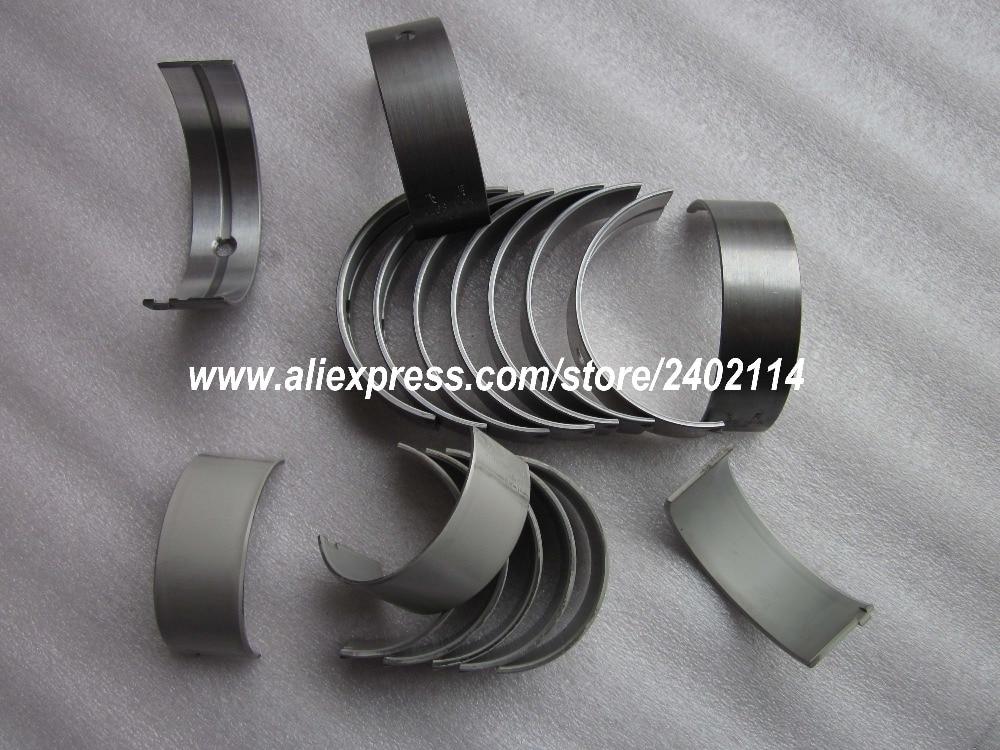 Conjunto de rolamentos principais e rolamentos de biela e conjunto de anéis de pressão para, changchai 4l68, número da peça