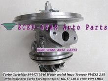 Su soğutmalı Turbo kartuş CHRA çekirdek RHB5 VI58 8944739540 8970192920 ISUZU Trooper 4JB1T PIAZZA 1988-96 4BD1-T 4BD1T 2.8L