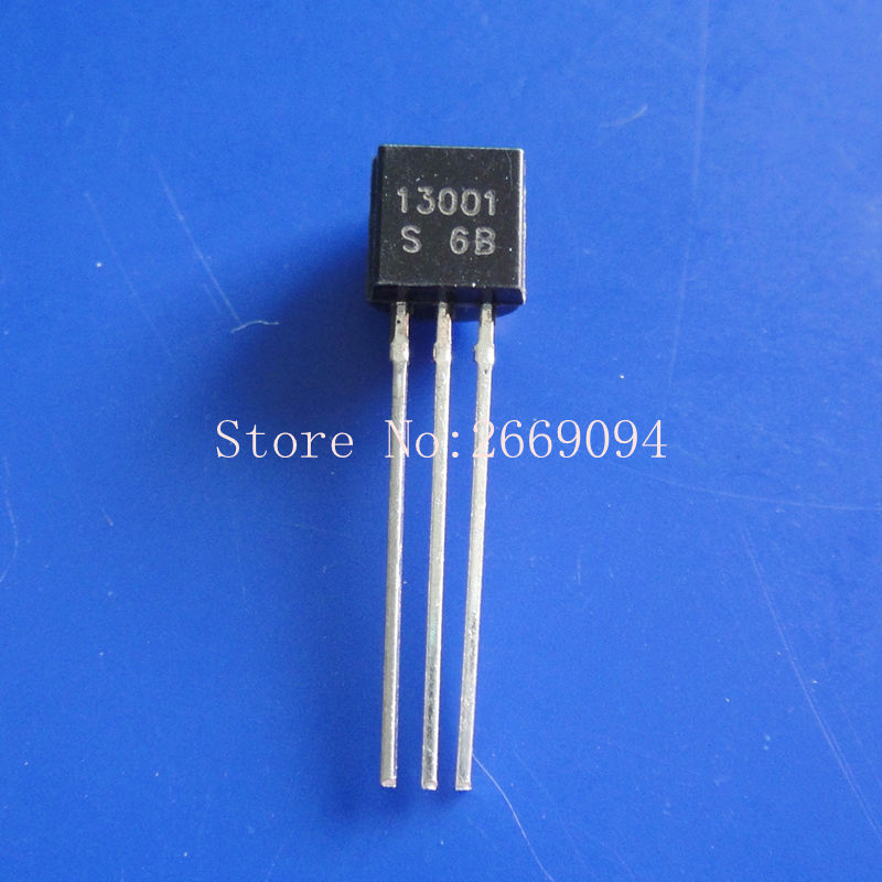 100 piezas MJE13001 a 92 13001 TO92 E13001 nuevo por triodo envío gratis