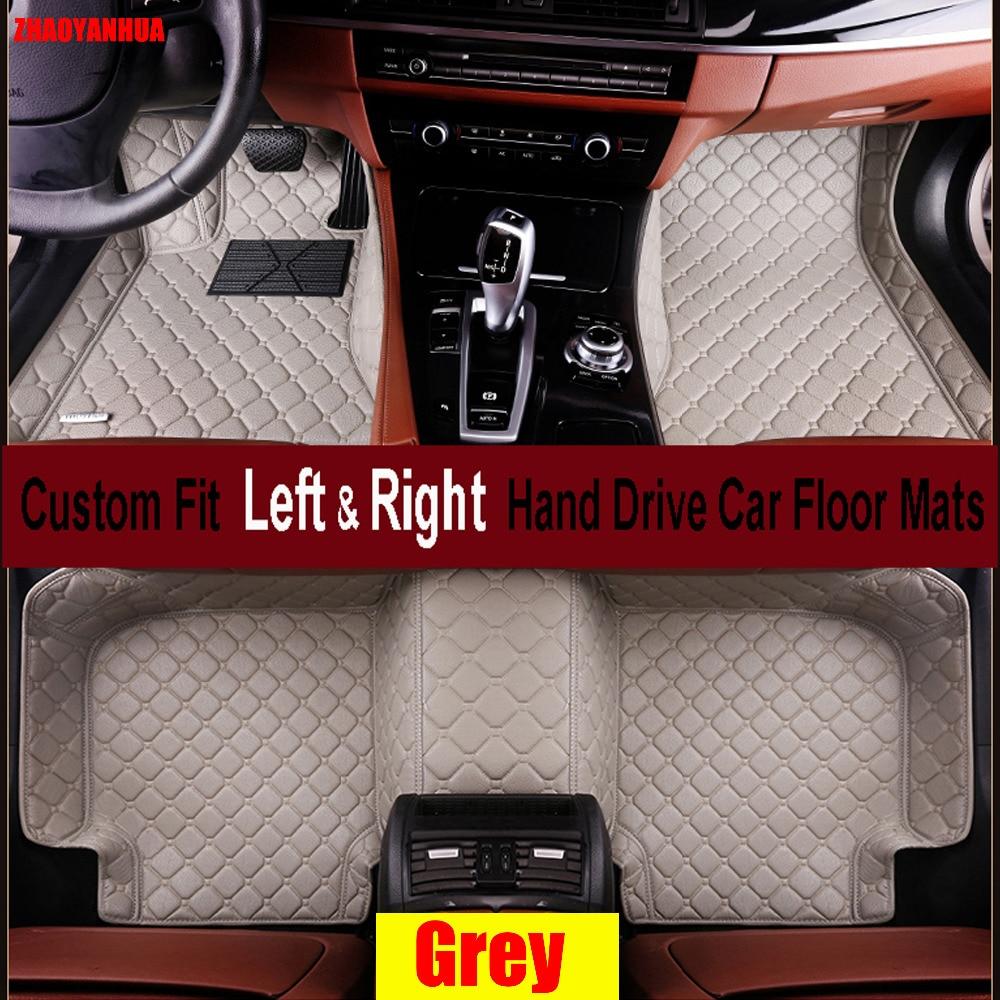 Tapetes de coche ZHAOYANHUA para Volkswagen Beetle CC Eos Golf Jetta tizan Touareg sharan 6D alfombra estilizada para el suelo