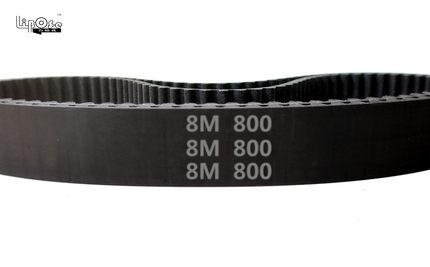 Envío Gratis, 2 uds., cinturón de distribución HTD 8M 10 de 800mm de longitud, 800mm de ancho, paso de 10mm, 8mm, dientes 100, correas de distribución de goma HTD8M STD S8M