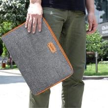 Miękki pokrowiec na torebkę okładka notesu dla 11 12 13 13.3 cal macbook Air Pro Retina na laptopa Ultrabook torba na tablet etui