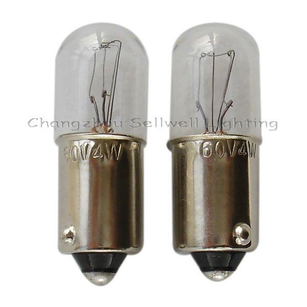 Miniature Lamp Bulbs Lighting Ba9s T10x28 60v 4w A030