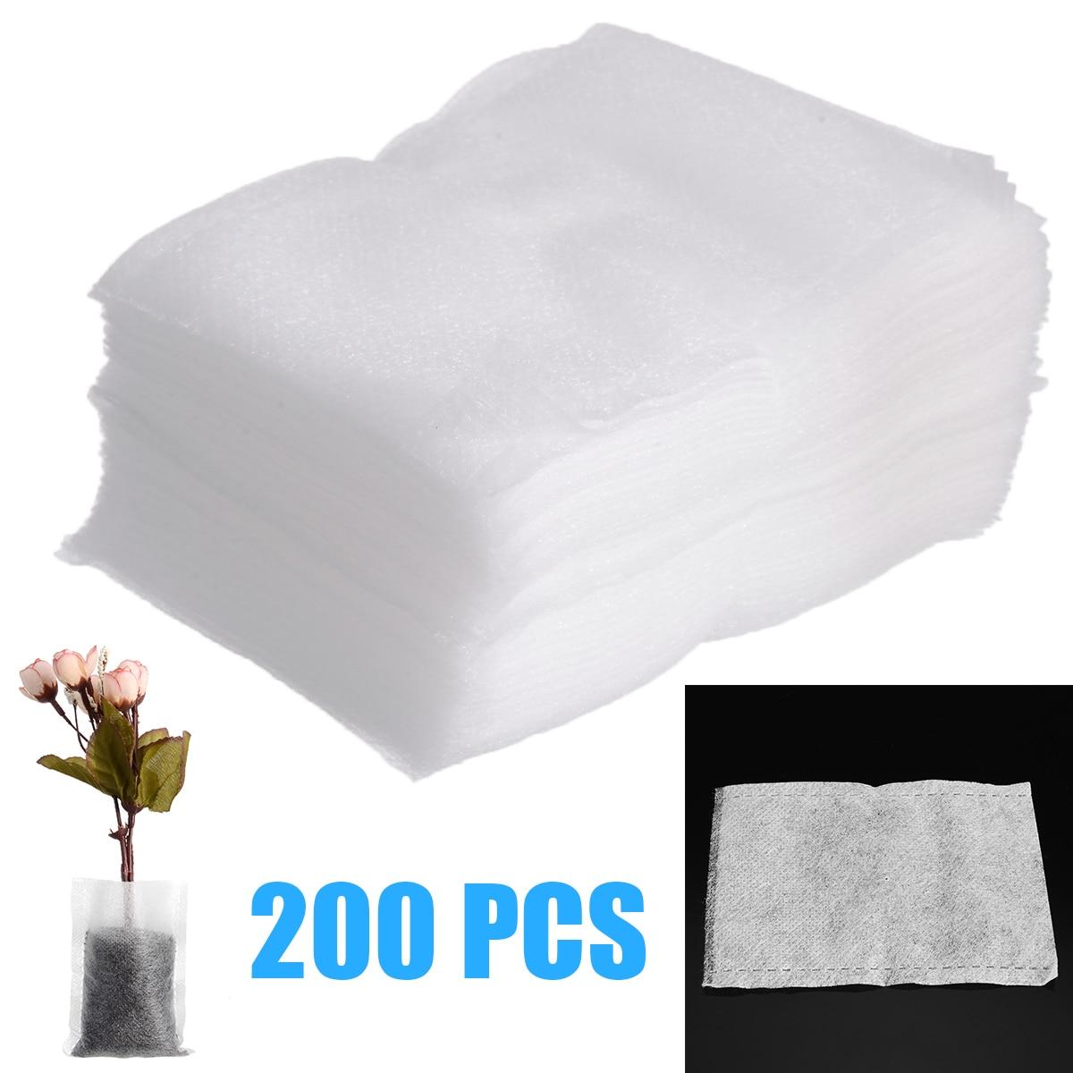 Sac de culture de plantes 200 pièces   Sacs de pépinière biodégradables Non tissés, sacs de culture de plantes, Pots de semis