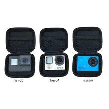 Storage Collection Bag Case For Gopro Hero 6/5/3/4 Sj4000 SJ6 SJ7/8 Xiaomi Yi Mijia 4K+ SOOCOO C30 EKEN H9 H3 Camera Accessories