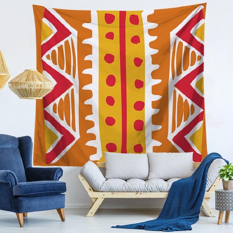 Tapiz rayas playa toalla tapiz Mandalas verano pared colgante Mandala manta Yoga Mat Hippy rectángulo Boho toalla mandala