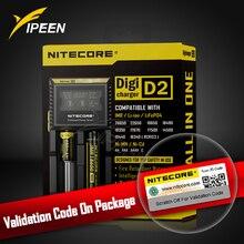 Nitecore D2 Charger with LCD Display Universal Smart Battery Charger car For 18650 Batteries IMR/ Li-ion/ LiFePO4/ Ni-MH/ Ni-Cd