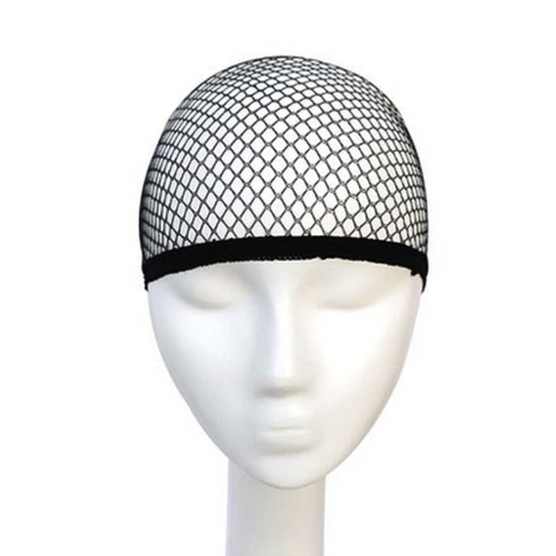 Top Sale Hairnets good Quality Mesh Weaving Black Wig Hair Net Making Caps Weaving Wig Cap & Hairnet