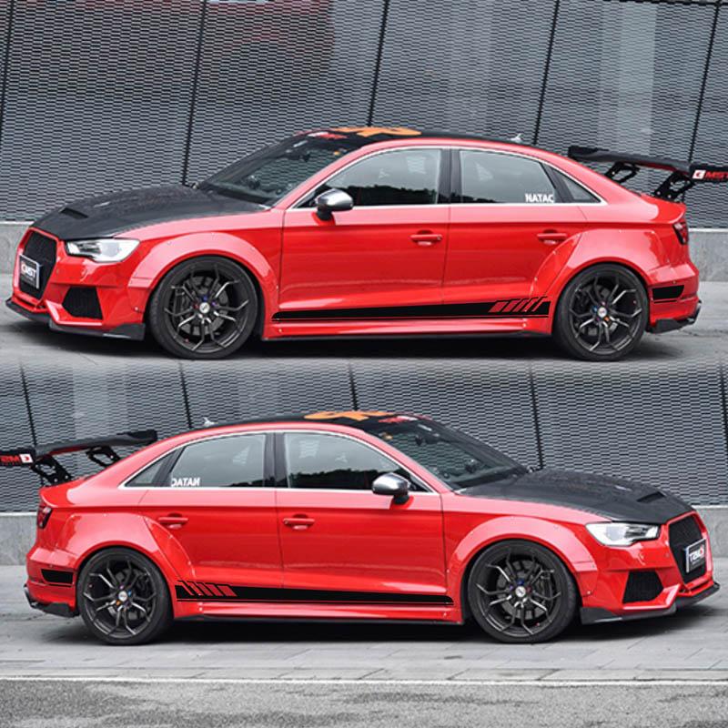 TAIYAO, автомобильный Стайлинг, спортивный автомобиль, наклейка для Audi A1 A3 A4 A5 A6 RS3 RS4 RS5 Mark Levinson, автомобильные аксессуары и наклейки, Авто Наклей...