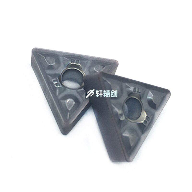 10 Uds TNMG160408 TF IC907 IC908 herramientas de torneado exterior carburo inserto TNMG 160408 torno cutterTool inserto de torneado