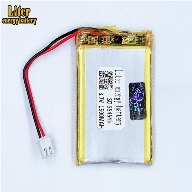 XHR-2P 2,54 1500mAh 564445 3,7 V batería de polímero de litio 554545 escanear instrumento de código aprendizaje