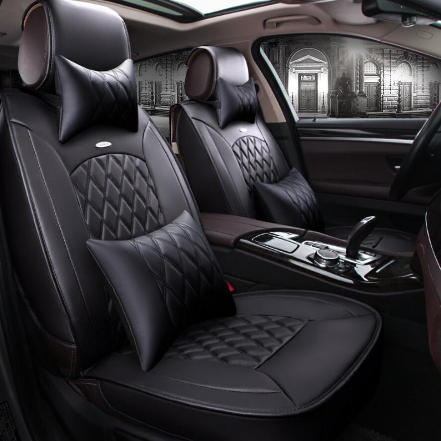 Leather Car Seat cover For honda cr-v crv 2002 2007-2011 2005 2007 2008 2010 2011 car seat cushion