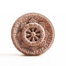 Original design Sanskrit Round handmade silicone soap molds customization acceptable