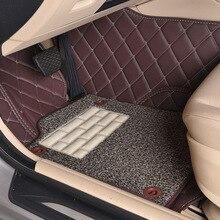 Myfmat-tapis de sol en cuir personnalisé   Pour VOLVO S40 S80L S80 XC60 C30 C70 XC90 V60 V40 S60L xc-classic, livraison gratuite et longue durée