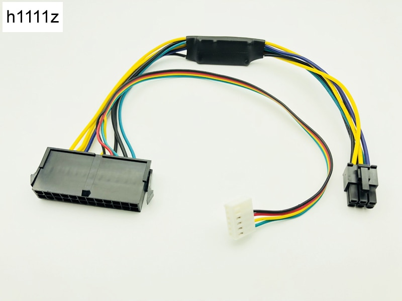 30 cm ATX Wichtigsten 24Pin zu 6Pin PCI-E NETZTEIL Power Adapter Kabel 18AWG Netzteil für HP Z220 Z230 SFF server Workstation Motherboard