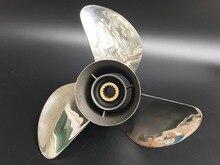 14x19 Para mercury 150-300HP motores de popa do barco motor de popa Hélice 15 dente de AÇO INOXIDÁVEL hélice mercúrio
