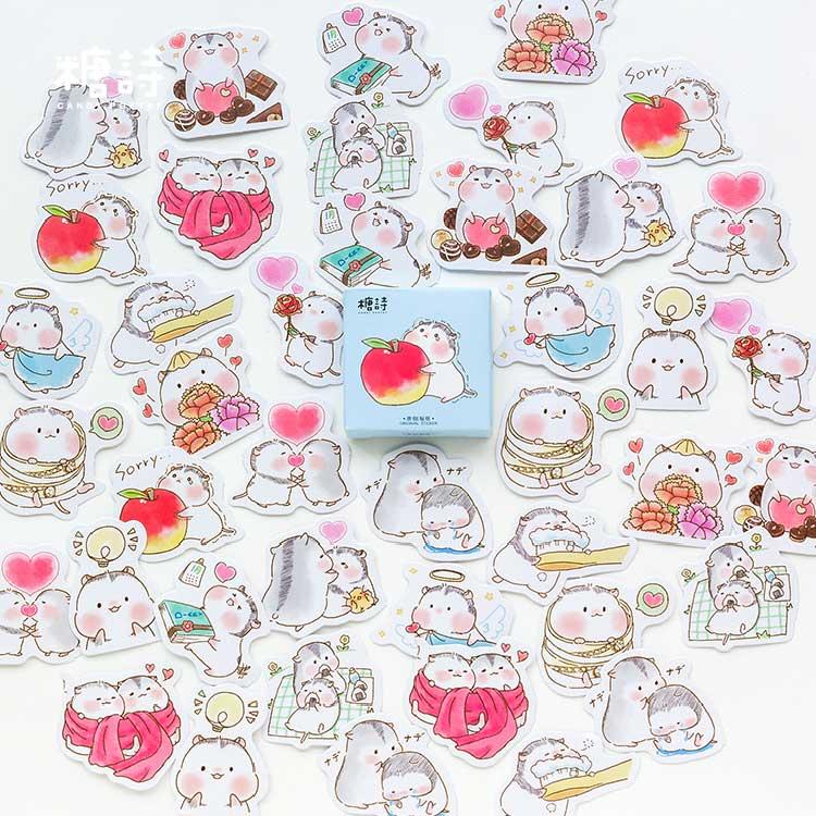 45-pz-borsa-simpatici-amici-di-criceto-adesivi-decorativi-adesivi-adesivi-scrapbooking-adesivi-diario-decorazione-fai-da-te