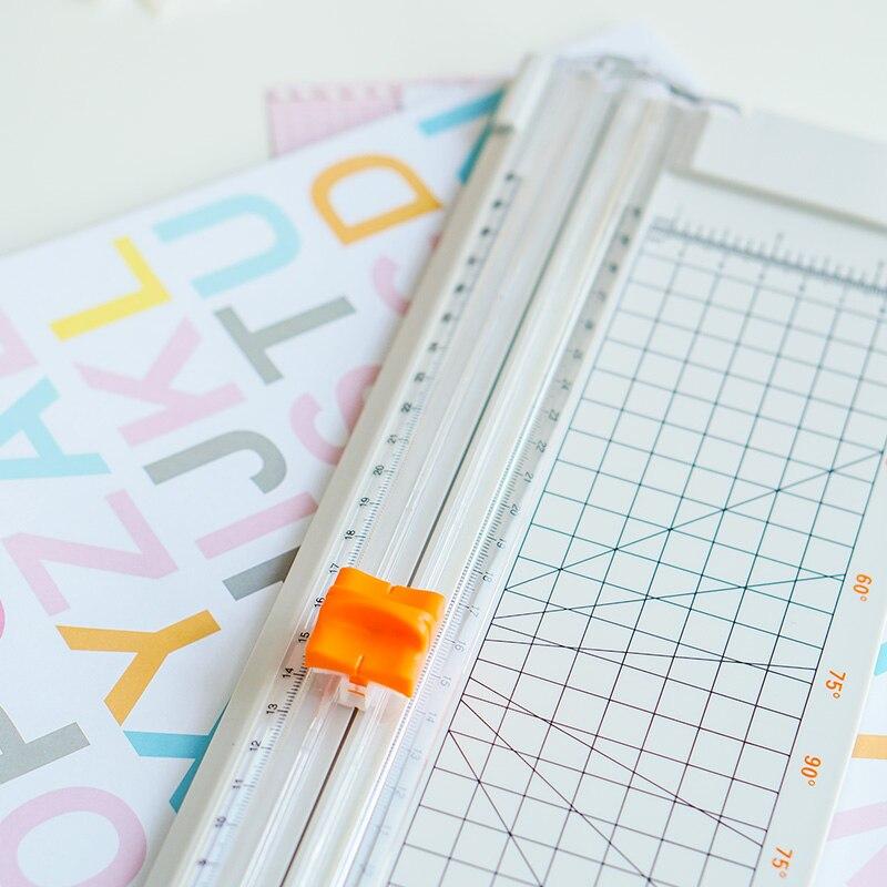 A4 Paper Cutter Slide Knife Cutting Mat Cutting Tools For Patchwork Scales Cutting Board Patchwork Tools Paper Cutter Machine