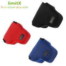 LimitX portátil neopreno suave impermeable cámara interior funda bolsa para Leica Q typ116 cámara Digital