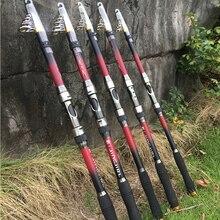 GHOTDA карбоновое волокно 2,1 м 2,4 м 2,7 м 3,0 м 3,6 м, телескопическая удочка, фидерная ловля карпа, удочка