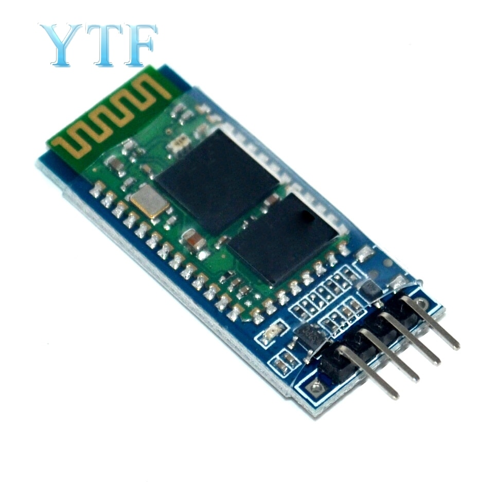 Módulo transceptor esclavo HC-06 RF inalámbrico Bluetooth módulo RS232 convertidor de TTL a UART y adaptador