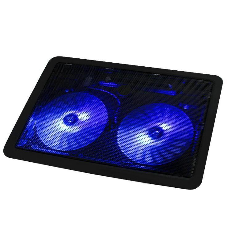 ¡Oferta! 10in a 14,1 in USB portátil soporte de enfriamiento Pad Suporte Para Notebook ventilador USB Super silencioso