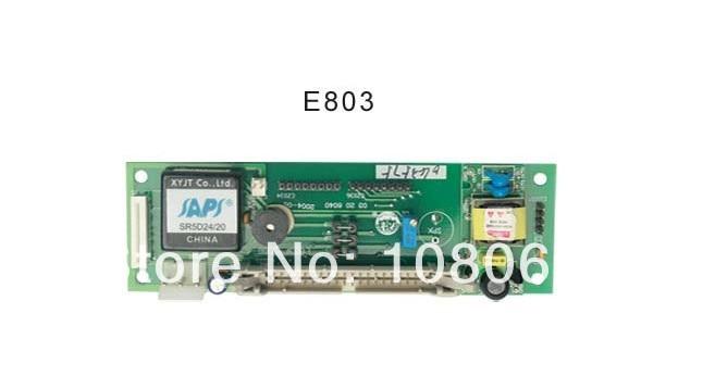 E803 do sistema de controle de peças de máquinas de bordar 100% NOVO DAHAO Elétrica placa de vídeo