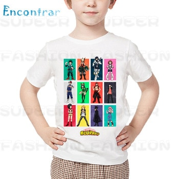My Hero Academia Katsuki Bakugo Children Boys T-shirts Summer 2019 Anime Harajuku Casual Tee Tshirt Baby Girls Clothes,dHKP105
