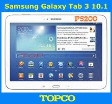 Samsung-teléfono inteligente Galaxy Tab 3 10,1 P5200, teléfono móvil Original libre 3G Dual core, Android, tableta de 10,1 pulgadas, cámara de 3.2MP, WIFI, GPS, 16GB ROM