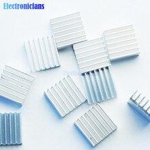 10 Pcs Diy Led Power Memory Chip Ic Hoge Kwaliteit 14X14X6 Mm Aluminium Koellichaam