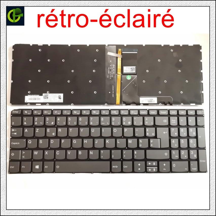 French Azerty backlit Keyboard for Lenovo 320-15 320-15ABR 320-15AST 320-15IAP 320-15IKB 320S-15ISK 320S-15IKB V320-17isK FR