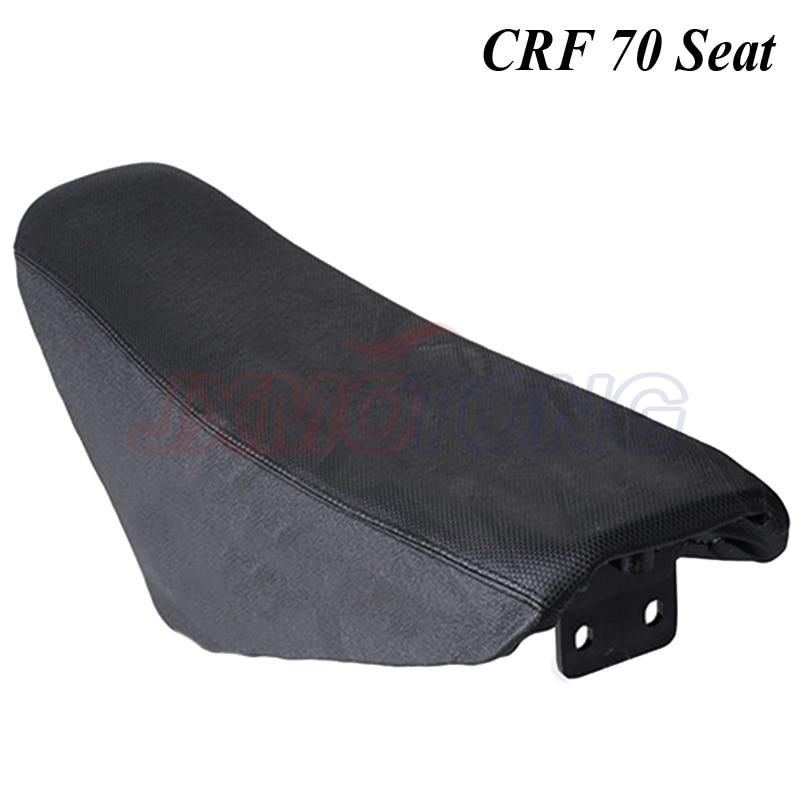 CRF70 العلامة التجارية الجديدة الأسود مقعد دراجة نارية الترابية دراجة الطرق غير الممهدة أجزاء ل crf 70 70cc