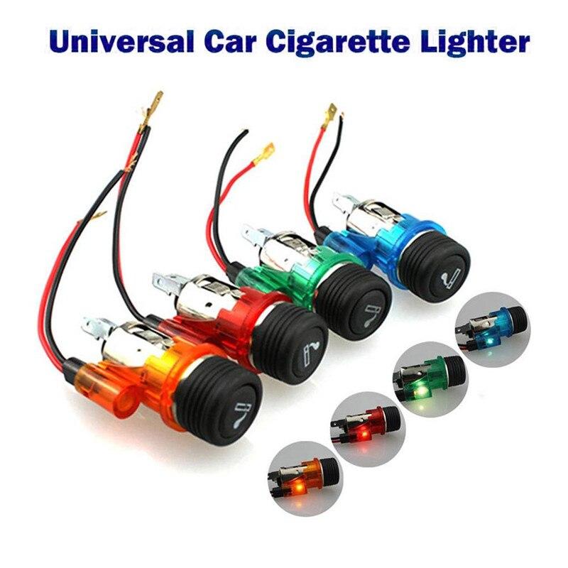Nuevo encendedor de cigarrillos de alta calidad de 12V 120W, práctico, seguro, duradero, a la moda, enchufe de salida para barco y motocicleta #295581