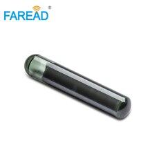 X40pcs 4*22mm i-code-Slix microchip HF ISO15693 RFID szklany chip transponder