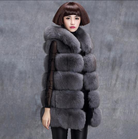 Женское меховое пальто из искусственного меха меховые жилетки больших размеров